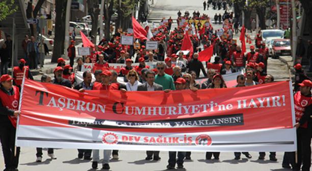 taseron-cumhuriyetine-hayir