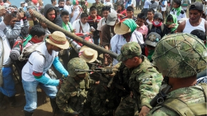 colombia-demonstration-Indigenous
