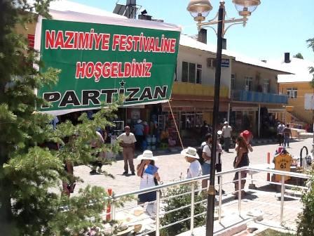 nazimiye festivali basladi