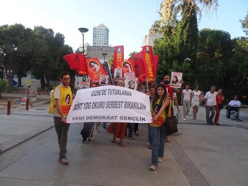 YDG İzmir eylemi 2