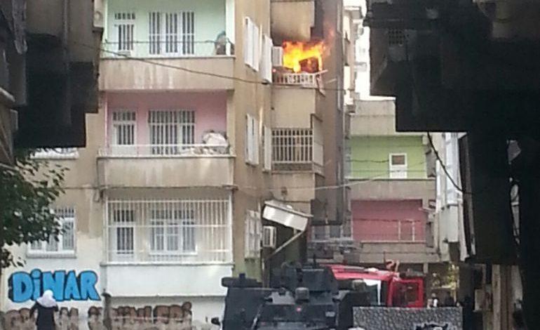 baglarda ev patlaması