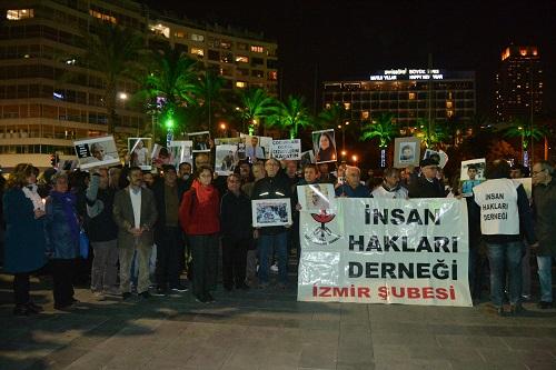 İzmirde insan hakları yürüyüşü 2