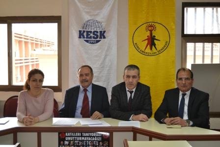 BES İzmir Şubesi basın toplantısı