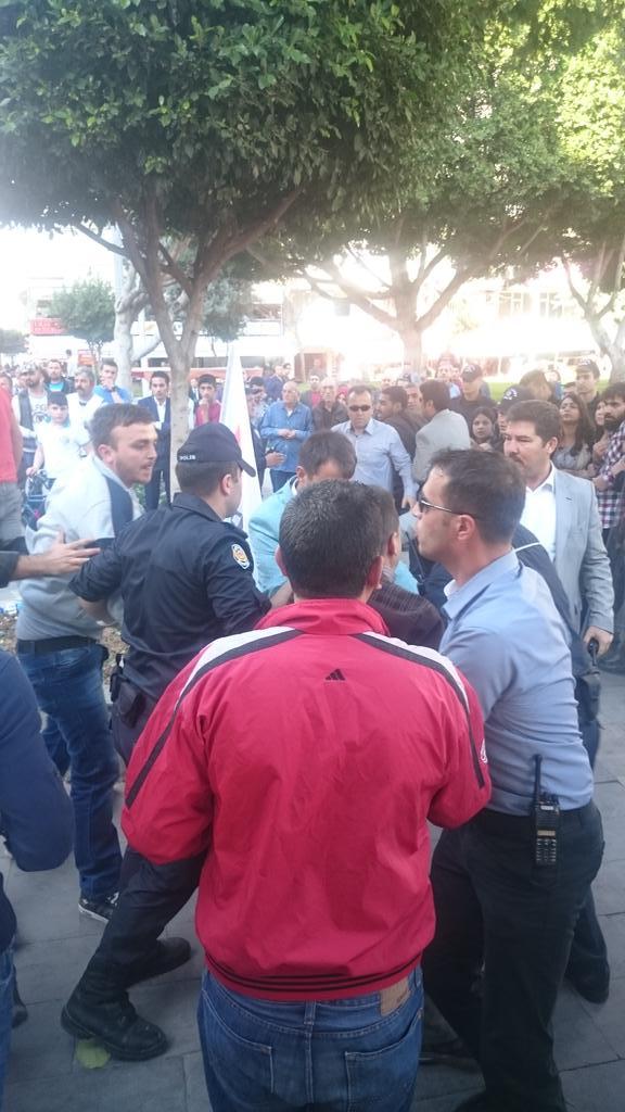 Devrimci Parti Adanada gözaltına alındı
