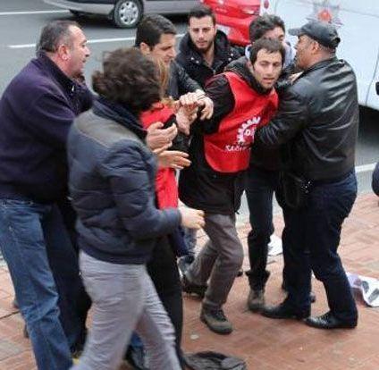 Gözaltına alınan 6 işçi serbest bırakıldı