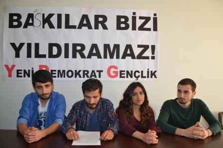 YDG İzmir basın açıklaması