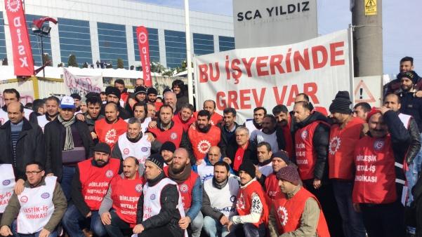 Ülker SCA Yıldız işçileri