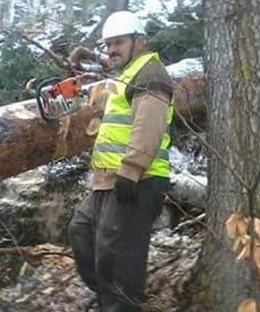 orman işçisi yaşamını yitirdi