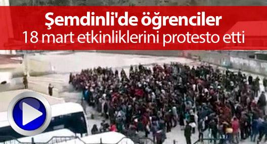 semdinli039de ogrenciler 18 mart etkinliklerini protesto etti 196223