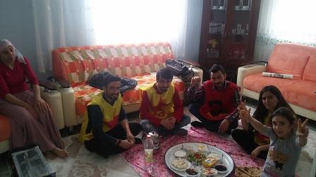 İzmir Narlıdere newroz çalışması