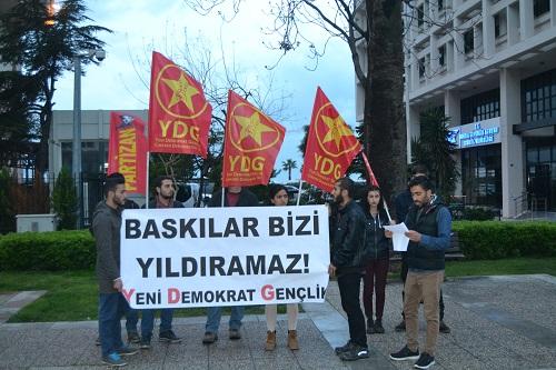 İzmir YDG basın açıklaması