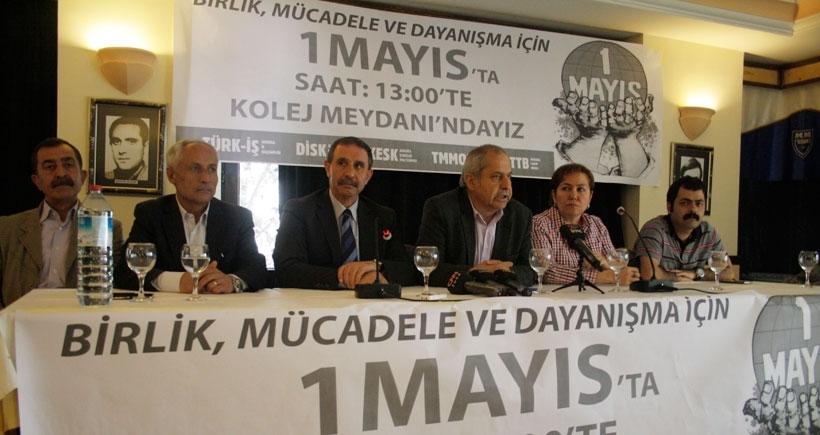 Ankara emek örgütleri 1 Mayısta alanlara