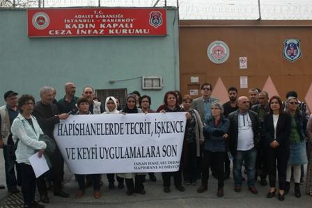 bakırköy kadın kapalı hapishane işkence