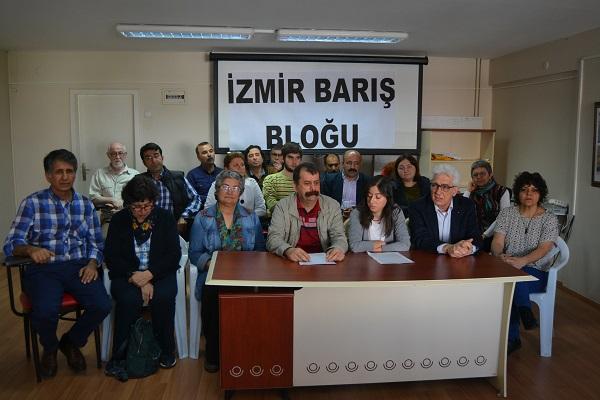 İzmir Barış Bloku basın toplantısı