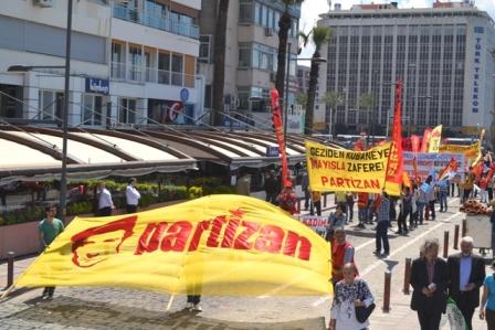İzmir Partizandan 1 Mayısa çağrı