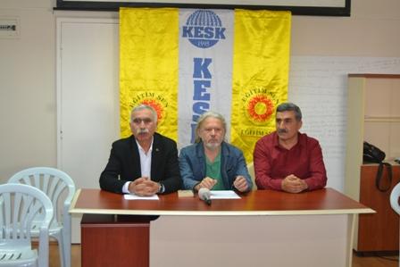İzmir basın toplantısı