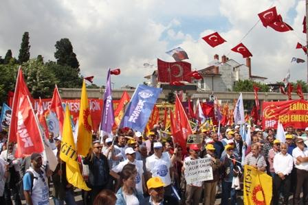 KESK İstanbul mitingi