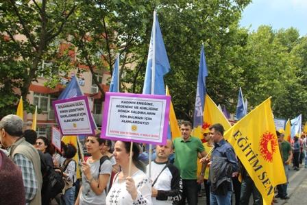 KESK İstanbul mitingi 2