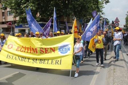 KESK İstanbul mitingi 3