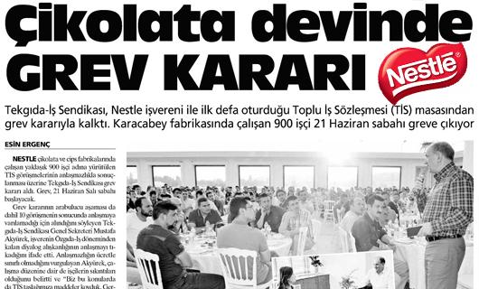 Nestle Grev Gida TEKGIDA