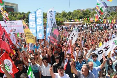 HDP Darbelere Hayır mitingi 3