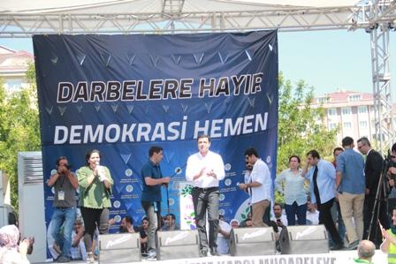 HDP Darbelere Hayır mitingi 4