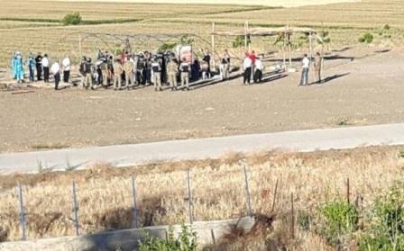 Terolarda direniş çadırına asker saldırdı