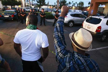 ABDde polis yine bir siyahiyi katletti