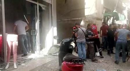 Kilise roketli saldırı