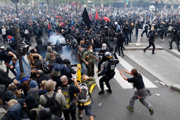 france labour reform protest 1