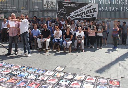iş cinayetleri protesto