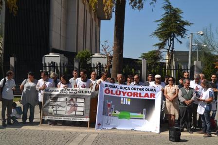 İHD İzmir eylem