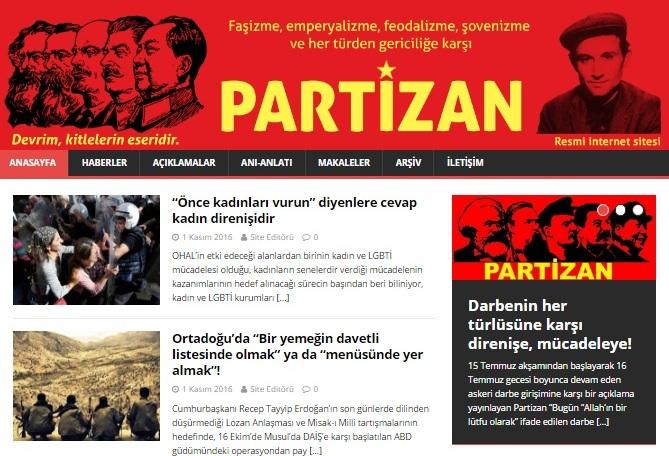 partizan resmi web sitesi