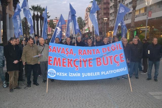 KESK İzmir basın açıklaması