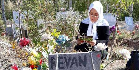 polis gerilla mezarlıklarına saldırdı