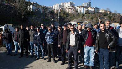 Beşiktaş Belediyesinde 250 işçi iş bıraktı