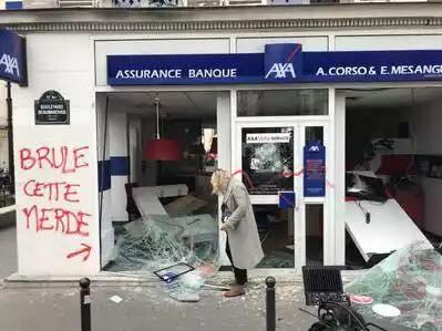Fransada reformlara karşı eylemler sürüyor 2