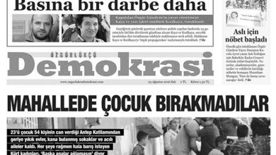 özgürlükçü demokrasi çalışanlarına tutuklama talebi