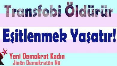 Photo of YDK: Transfobi öldürür, eşitlenmek yaşatır!